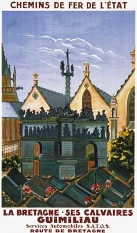 Affiche Guimiliau 1931